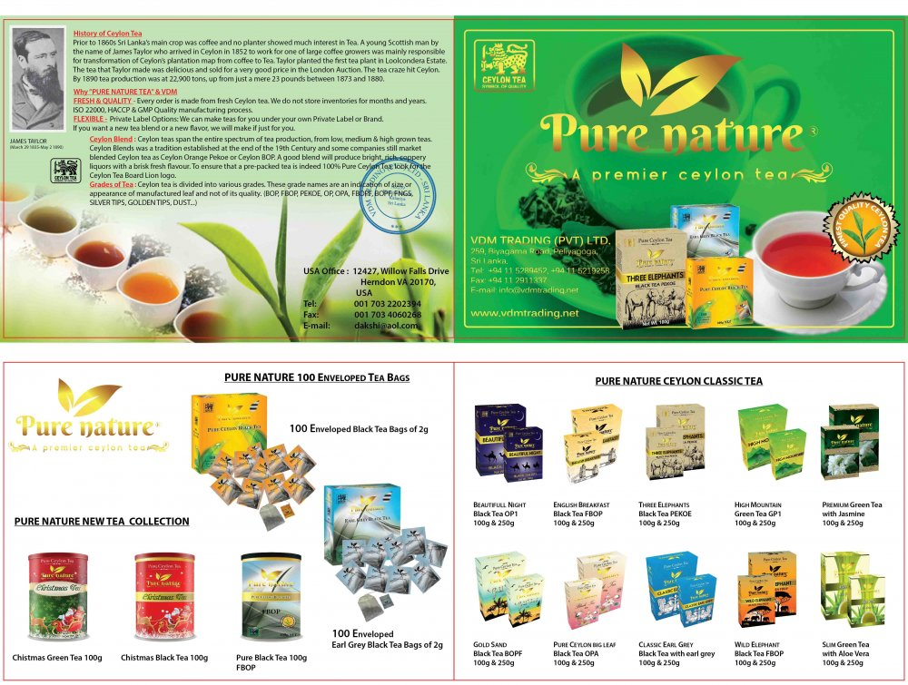 Buy Pure Nature Tea
