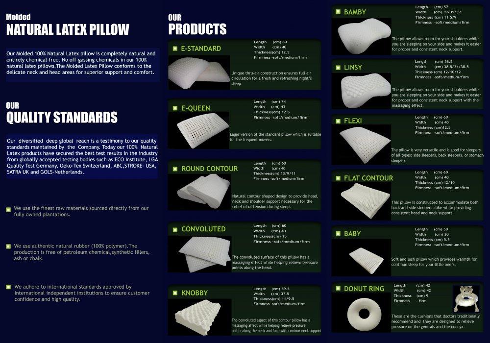 Buy Natural Latex Pillows